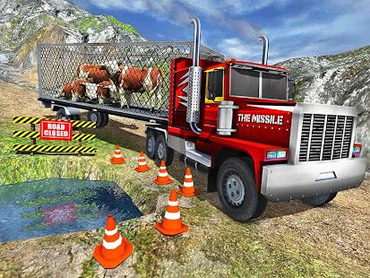 Offroad Farm Animal Truck Driving Game 2020 v1.9 screenshots 8