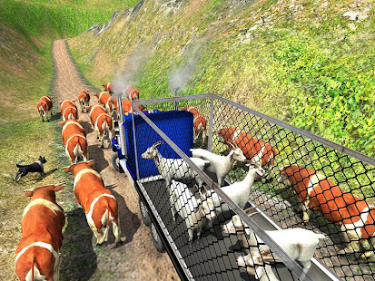 Offroad Farm Animal Truck Driving Game 2020 v1.9 screenshots 9