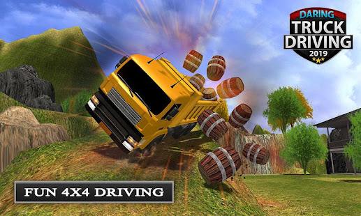 Offroad Transport Truck Driving – Jeep Driver v1.0.8 screenshots 1