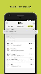 Ola Lite Lighter Faster Ola App. Book Taxi amp Cabs v3.1 screenshots 6