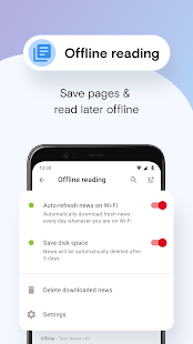 Opera Mini browser beta v59.0.2254.58910 screenshots 8
