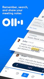 Otter Meeting Note Transcription Voice Recorder v2.1.56-2811 screenshots 1