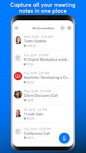 Otter Meeting Note Transcription Voice Recorder v2.1.56-2811 screenshots 3