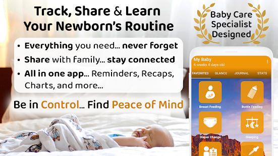 ParentLove Baby Tracker Feeding Breastfeeding v9.5.3 screenshots 1