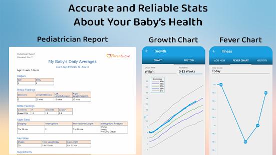 ParentLove Baby Tracker Feeding Breastfeeding v9.5.3 screenshots 6