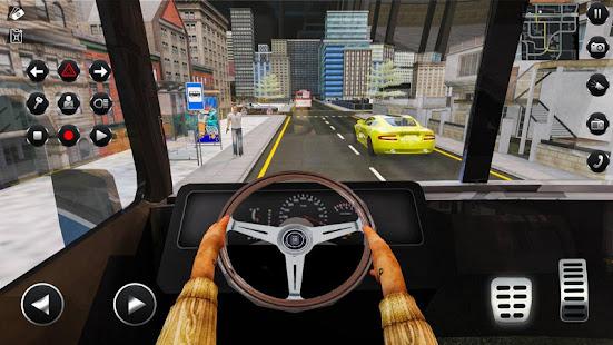 Passenger Bus Taxi Driving Simulator v1.6 screenshots 1