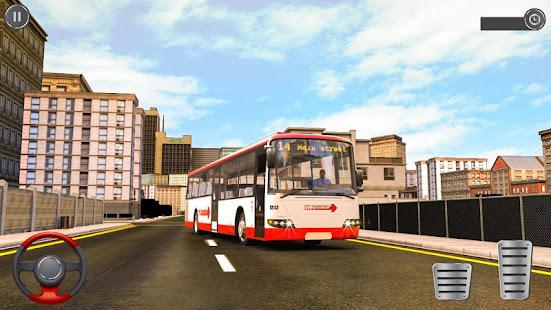 Passenger Bus Taxi Driving Simulator v1.6 screenshots 2