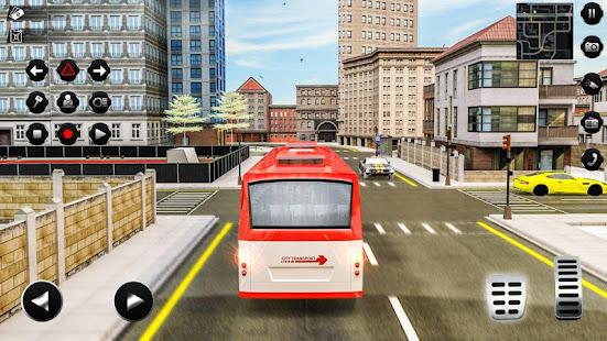 Passenger Bus Taxi Driving Simulator v1.6 screenshots 4