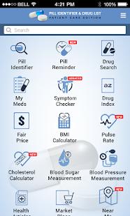 Pill Identifier and Drug list v4.3 screenshots 1
