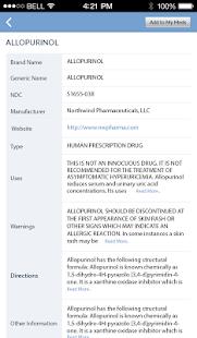 Pill Identifier and Drug list v4.3 screenshots 14