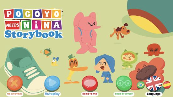 Pocoyo meets Nina – Storybook v2.00 screenshots 1