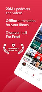Podcast App Free amp Offline Podcasts by Player FM v5.0.0.20 screenshots 1