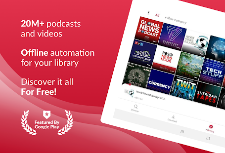 Podcast App Free amp Offline Podcasts by Player FM v5.0.0.20 screenshots 9