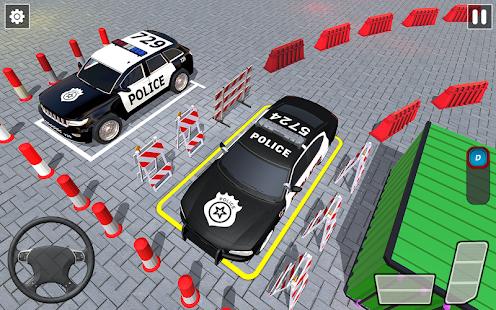Police Car Parking Games New Prado Car Games 2021 v1.1.47 screenshots 1