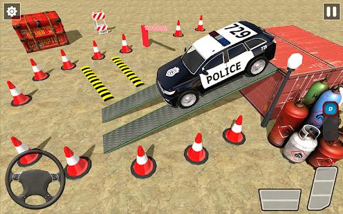 Police Car Parking Games New Prado Car Games 2021 v1.1.47 screenshots 2