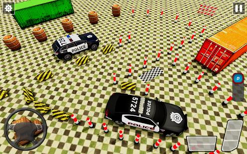 Police Car Parking Games New Prado Car Games 2021 v1.1.47 screenshots 4
