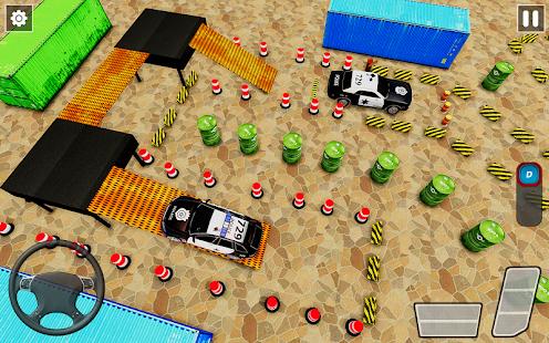Police Car Parking Games New Prado Car Games 2021 v1.1.47 screenshots 5