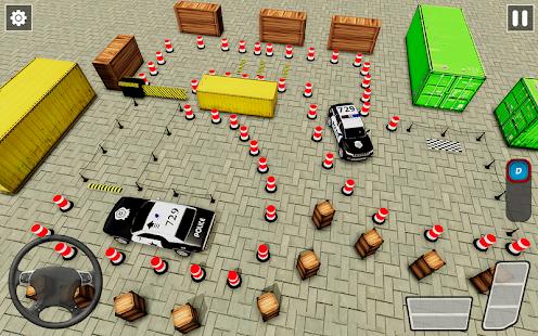 Police Car Parking Games New Prado Car Games 2021 v1.1.47 screenshots 6