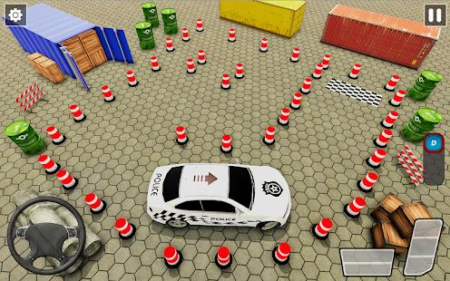 Police Car Parking Games New Prado Car Games 2021 v1.1.47 screenshots 9