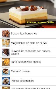 Postres Caseros Fciles v10.0.0 screenshots 2