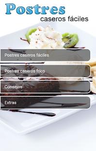 Postres Caseros Fciles v10.0.0 screenshots 4