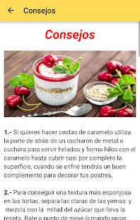 Postres Caseros Fciles v10.0.0 screenshots 5