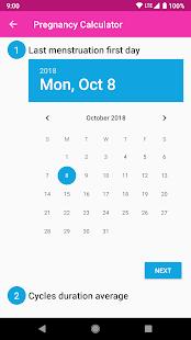 Pregnancy Calculator and Calendar v1.0.1 screenshots 2