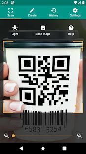 QR amp Barcode Reader v2.7.1-L screenshots 1