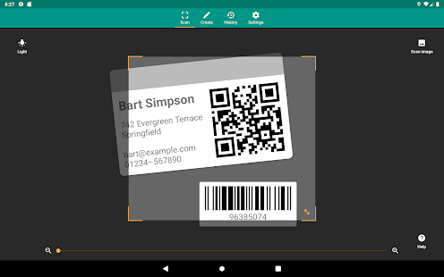 QR amp Barcode Reader v2.7.1-L screenshots 11