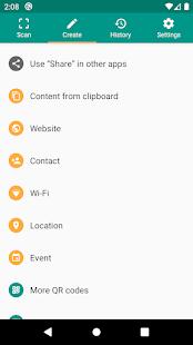 QR amp Barcode Reader v2.7.1-L screenshots 6