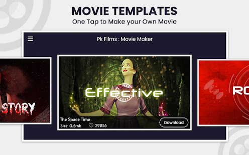 Qfilm – Short Movie Maker with sound effects. v2.5 screenshots 2