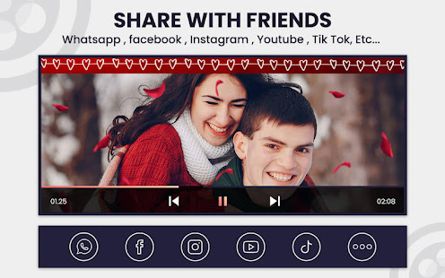 Qfilm – Short Movie Maker with sound effects. v2.5 screenshots 7