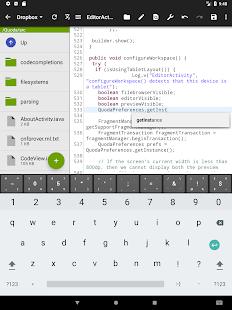 Quoda Code Editor v2.0.0.7 screenshots 10