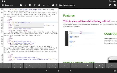 Quoda Code Editor v2.0.0.7 screenshots 11