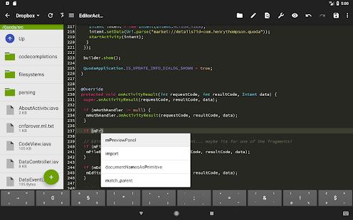 Quoda Code Editor v2.0.0.7 screenshots 12