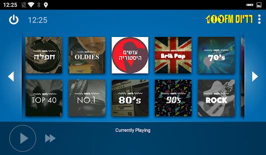 Radios 100FM Music – Car Mode v2.1.8 screenshots 4