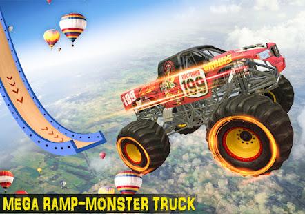 Ramp Monster Truck StuntsNew Racing Games v3.2 screenshots 1