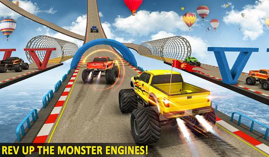 Ramp Monster Truck StuntsNew Racing Games v3.2 screenshots 10