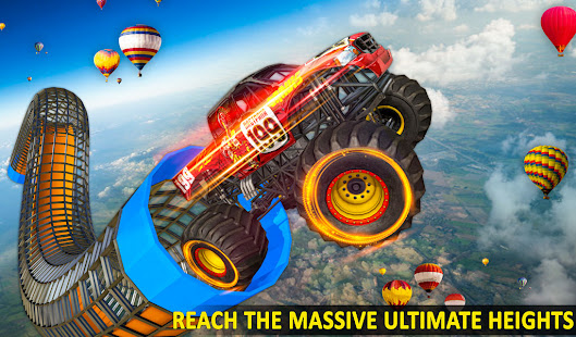 Ramp Monster Truck StuntsNew Racing Games v3.2 screenshots 11