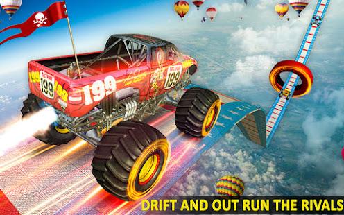 Ramp Monster Truck StuntsNew Racing Games v3.2 screenshots 12