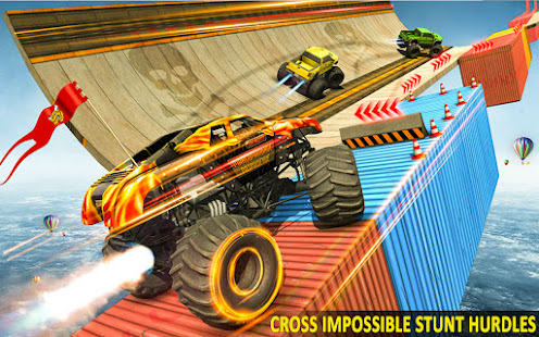 Ramp Monster Truck StuntsNew Racing Games v3.2 screenshots 14