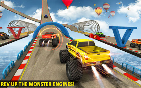 Ramp Monster Truck StuntsNew Racing Games v3.2 screenshots 15