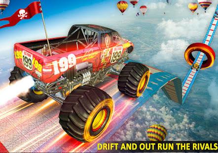 Ramp Monster Truck StuntsNew Racing Games v3.2 screenshots 2
