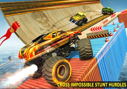 Ramp Monster Truck StuntsNew Racing Games v3.2 screenshots 4