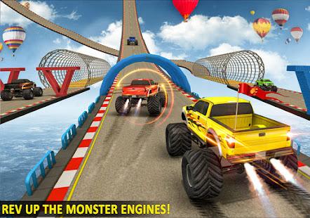 Ramp Monster Truck StuntsNew Racing Games v3.2 screenshots 5