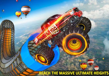 Ramp Monster Truck StuntsNew Racing Games v3.2 screenshots 6