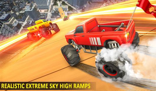 Ramp Monster Truck StuntsNew Racing Games v3.2 screenshots 8