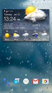 Real-time weather forecasts v16.6.0.6365_50185 screenshots 1
