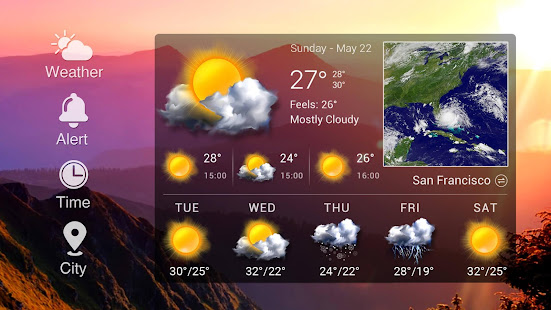 Real-time weather forecasts v16.6.0.6365_50185 screenshots 10