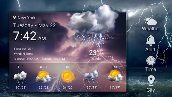 Real-time weather forecasts v16.6.0.6365_50185 screenshots 11